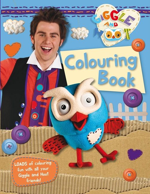 Giggle And Hoot Colouring Book
