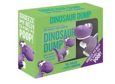 Dinosaur Dump Boxed Set (Book and Dinosaur Toy)