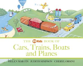 Cover image - The ABC Book of Cars, Trains, Boats and Planes