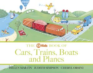 ABC Book of Cars, Trains, Boats and Planes Paperback  by Helen Martin
