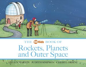 ABC Book of Rockets, Planes & Outer Space Paperback  by Helen Martin