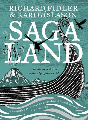 SAGA LAND: The island of stories at the edge of the world Paperback  by