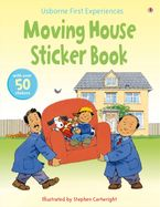 Moving House Sticker Book (Usborne First Experiences) Paperback  by Anne Civardi