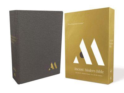 NKJV Ancient Modern Bible [Grey]