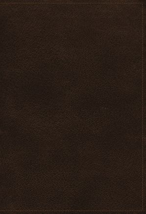 NKJV, Open Bible, Genuine Leather, Brown, Red Letter Edition, Comfort Print: Complete Reference System   by