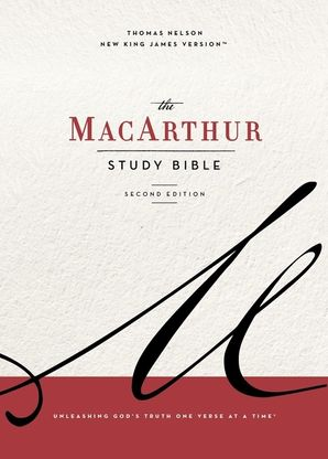 NKJV, MacArthur Study Bible, 2nd Edition, Cloth over Board, Blue, Comfort Print Hardcover  by John Macarthur