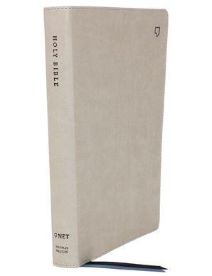 net-bible-thinline-leathersoft-stone-comfort-print-holy-bible