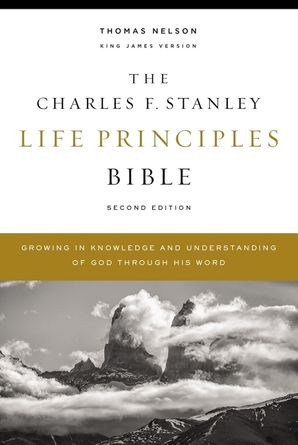 KJV, Charles F. Stanley Life Principles Bible, 2nd Edition, Hardcover, Comfort Print: Growing in Knowledge and Understanding of God Through His Word Hardcover  by Charles Stanley