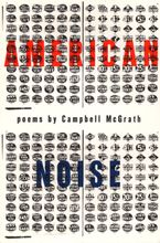 American Noise Paperback  by Campbell McGrath