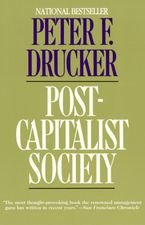 Book cover image: Post-Capitalist Society | National Bestseller