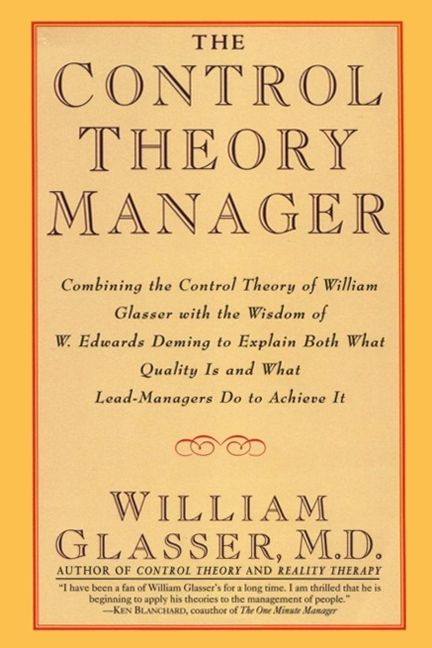 Book cover image: The Control Theory Manager