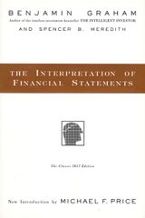 The Interpretation of Financial Statements