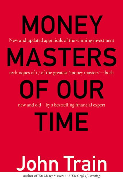 Book cover image: Money Masters of Our Time