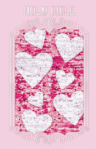 Sequin Sparkle And Change Bible [Pink]