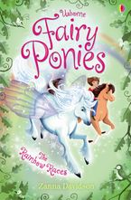 Fairy Ponies Rainbow Races Hardcover  by Zanna Davidson