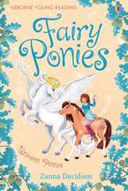 Fairy Ponies Unicorn Prince Hardcover  by Zanna Davidson