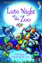 Late Night At The Zoo Hardcover  by MAIRI MACKINNON