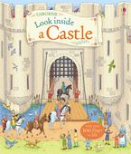 Look Inside A Castle Hardcover  by Conrad Mason
