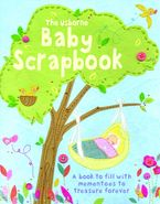 Baby Scrapbook With Stickers Hardcover  by Katie Daynes