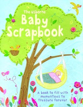 Baby Scrapbook With Stickers
