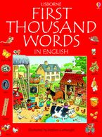 First 1000 Words In English Paperback  by USBORNE
