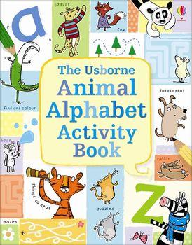 Animal Alphabet Activity Book