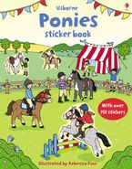 Ponies Sticker Book Paperback  by Leonie Pratt