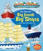 Big Book Of Big Ships Hardcover  by Minna Lacey