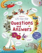 Lift-The-flap Questions And Answers Hardcover  by Katie Daynes