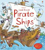 Look Inside A Pirate Ship Hardcover  by Minna Lacey