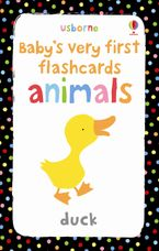 Animals (Baby's Very First Flashcards)