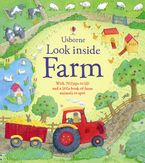 Look Inside A Farm Hardcover  by Katie Daynes