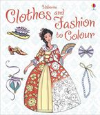 Clothes And Fashion To Colour Paperback  by RUTH BROCKLEHURST