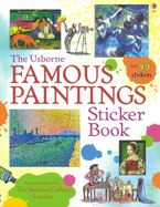 Famous Paintings Sticker Book Paperback  by MEGAN CULLIS