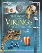 Story Of The Vikings Sticker Book Paperback  by MEGAN CULLIS