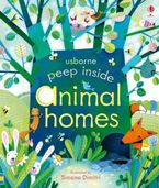 Peep Inside Animal Homes Paperback  by Anna Milbourne
