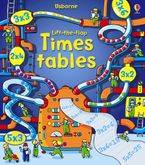 Lift-The-flap Times Tables Book Hardcover  by Rosie Dickins