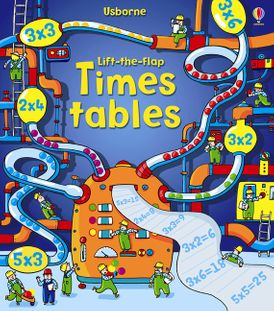Lift-The-flap Times Tables Book