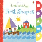 Usborne Look And Say/First Shapes Board Book