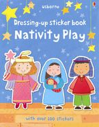 Felicity Brooks - Dressing-Up Sticker Book Nativity Play