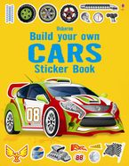 Build Your Own Cars Sticker Book Paperback  by Simon Tudhope