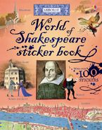 World of Shakespeare Sticker Book Paperback  by Rosie Dickins