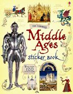 Middle Ages Sticker Book Paperback  by ABIGAIL WHEATLEY