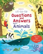 Lift The Flap Questions & Answers About Animals Hardcover  by Katie Daynes
