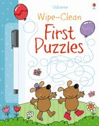 Wipe-Clean First Puzzles Paperback  by Jessica Greenwell