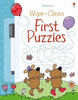 Wipe-Clean First Puzzles