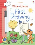 Wipe-Clean First Drawing Paperback  by Jessica Greenwell