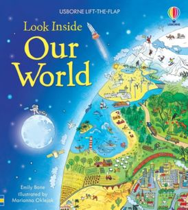 Look Inside Our World Board Book