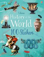 HISTORY OF THE WORLD IN 100 STICKERS Paperback  by Jones Rob Lloyd