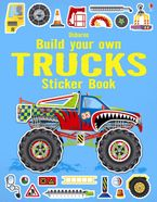 Build Your Own Trucks Sticker Book Paperback  by Simon Tudhope